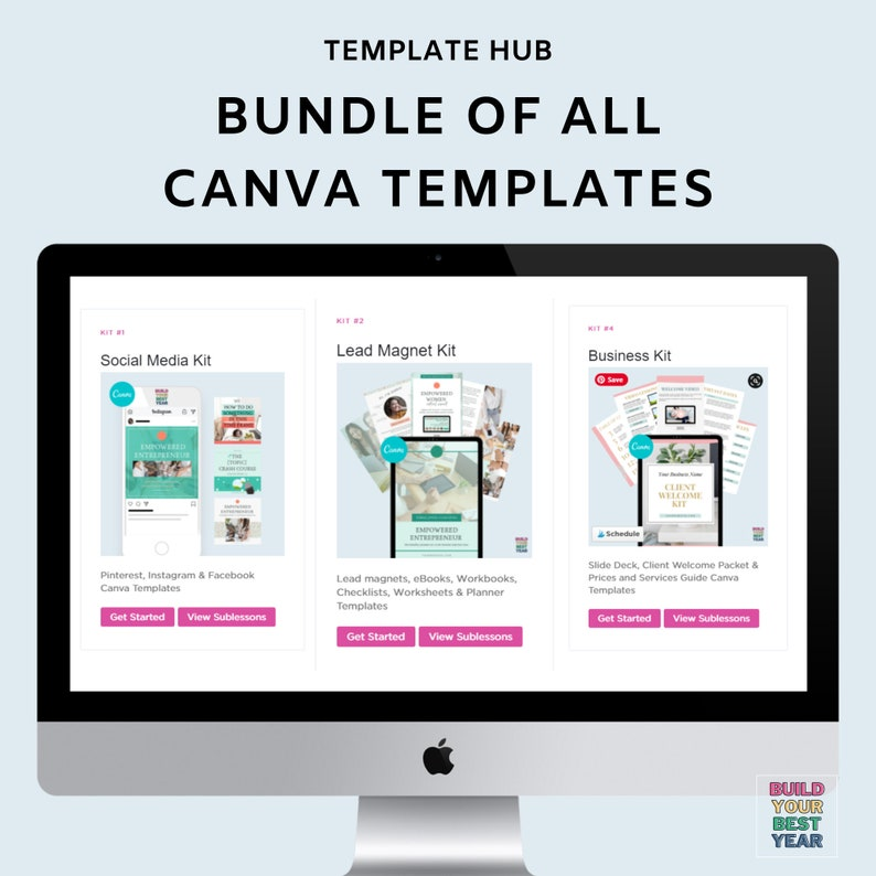 1400 Editable Canva Templates  Every Template in my Etsy image 0