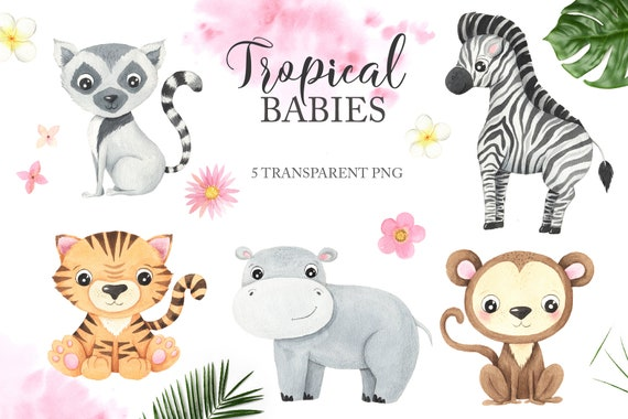 PARTY ANIMALS PAPER MASK Giraffe Zebra Monkey -Jungle,Tropic,Go Wild Tiger