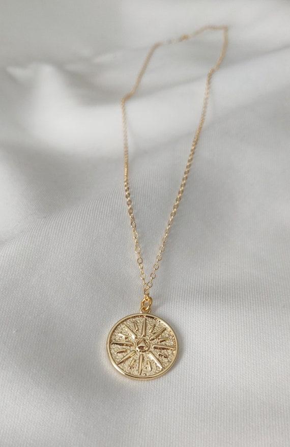 GiftJewelryShop Bronze Retro Style Ukraine Flag Flower Pendant Charm Necklaces #22