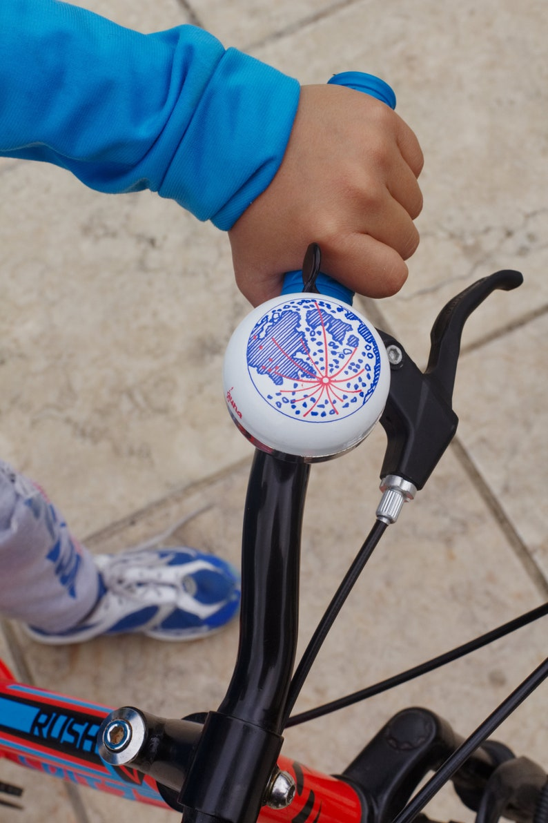 Moon Bike Bell  Ding Dong bicycle accessory image 0