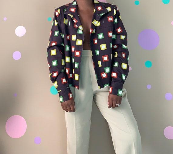 Vintage Cropped 70's Jacket Size: Medium