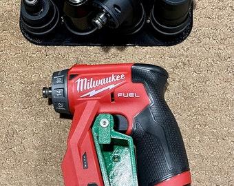 Milwaukee M12 Installation Driver Storage Mounts - 2505