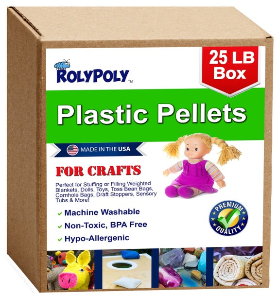 ~ PLaStiC PoLy PeLLeTs 1 PoUnD ~ REBORN DOLL SUPPLIES