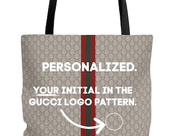 c7f2ebe202df Custom Logo Monogram Gucci Diamante Tribute Homage Tote Bag