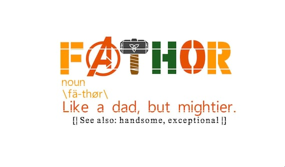 Fathor Avengers Endgame Inspired Father S Day Svg Shirt Etsy