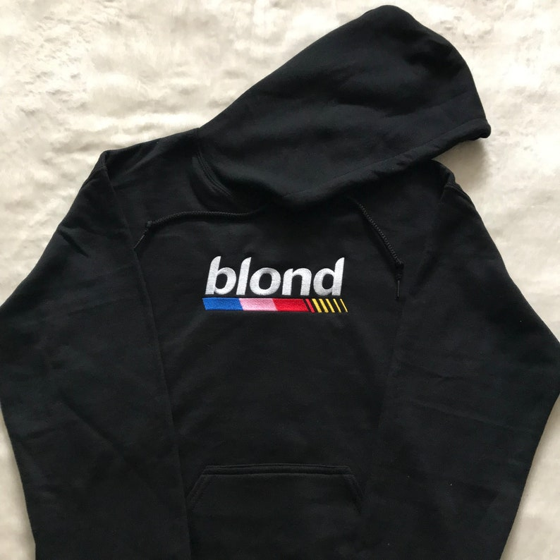 cadab1253e445d Blond hoodie   Frank Ocean   embroidered pullover   golf wang