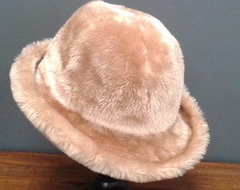 32540ed7fc51 Vintage faux fur hats