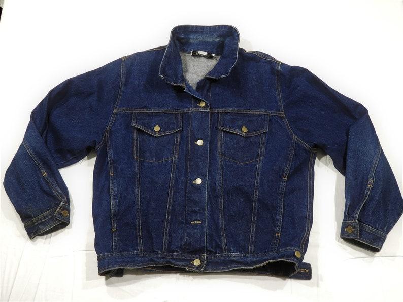 a6684df89a7 Vintage Trucker Jacket Rare Coach in Four Seasons Men's | Etsy