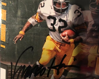 Franco Harris signed autographed Pittsburgh Steelers card w COA d61dbb4ee