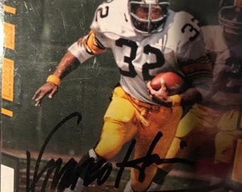 4619ad607 Franco Harris signed autographed Pittsburgh Steelers card w COA