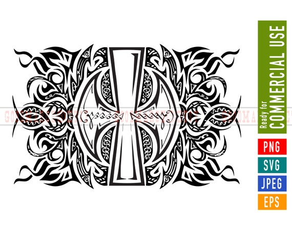 Viking Art Tattoo Norse Decor Svg Eps Png Jpeg Vector Etsy