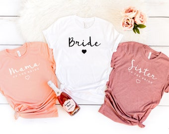 f0be593c695f Bride | Mother of the Bride | Sister of the Bride | Bride T-Shirts | Brides  Family T-shirt | Mother of the Bride T-shirt | Bride's Mother
