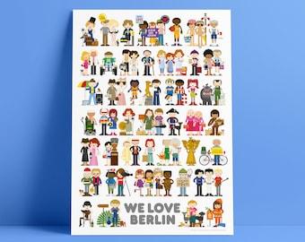 WE LOVE BERLIN Poster
