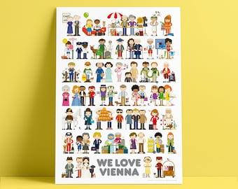 WE LOVE VIENNA Poster
