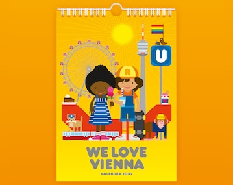 WE LOVE VIENNA Calendar 2022