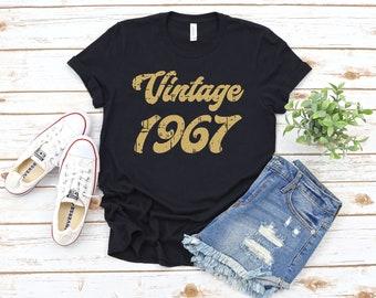 89e91eff2 Vintage 1967 Shirt, 52nd Birthday, 52nd Birthday Gift, 52nd Birthday Shirt,  52nd Birthday Party, 1967 T-Shirt