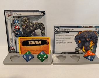 Card and Dice Holder - Compatible with Marvel Champions and other LCGs