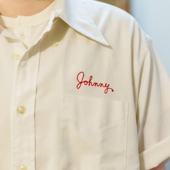 "Vintage ""Johnny"" Work Wear Shirt"