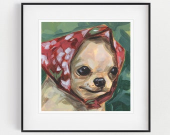 Chihuahua Wall Art Etsy