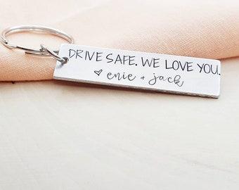 Drive safe Personalized Keychain I kinda friggin love you!