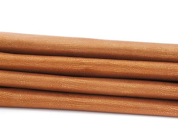 Ziegenleder 1,5 mm bordeaux 1 m