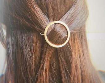 Daily Hair Pins Clips For Thick Thin Hair Girlfriend Gift 2pcs SET Minimalist Hair Clips Gold Silver Hair Clips Barrettes For Women