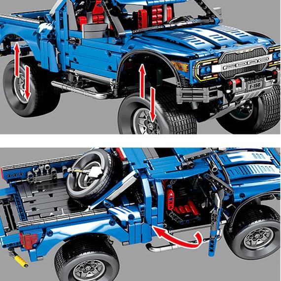 Custom Blocks Ford F-150 Raptor compatible with LEGO technic!