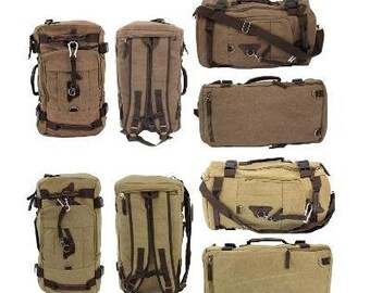 4c1bbe442abe Monogrammed Hiking Canvas Men s Backpack