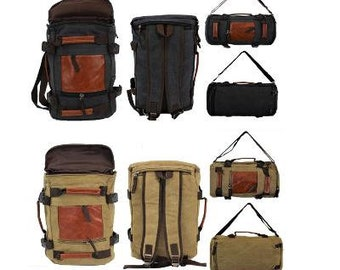 464a4afada19 Personalized Hiking Canvas Men s Backpack