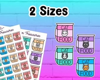 Cat Food Icon Stickers