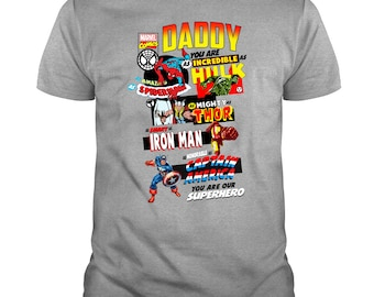 5501b500 Daddy You Are Incredible Hulk T Shirt, Gift For Dad T Shirt, Happy Father's  Day T Shirt