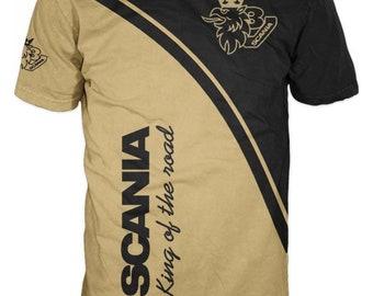6fdeda89330 Men s Print T Shirt with Scania  6296