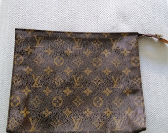 23a0bd585a5b Genuine vintage 80 s Louis Vuitton cosmetic bag.