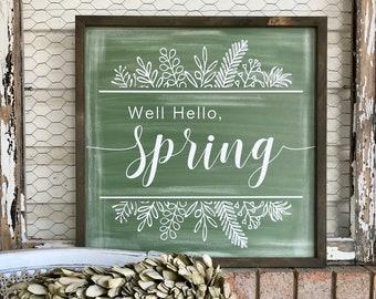 Spring Chalkboard Etsy
