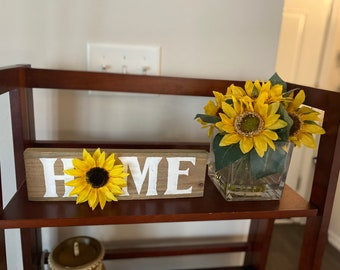 Sunflower Home Decor Etsy