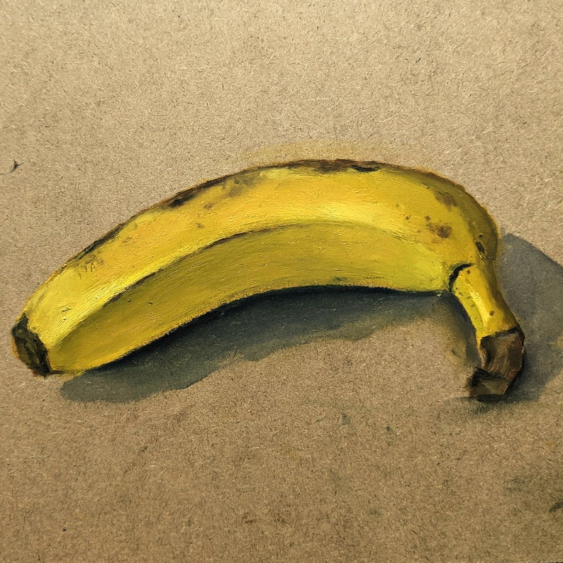 Custom Fruit or Veg Painting   Original Artwork  Original image 0