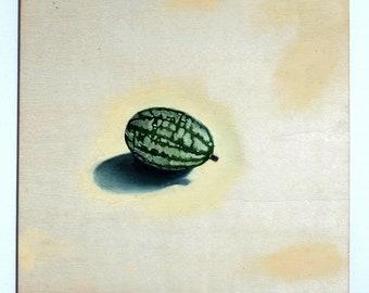Cucamelon Painting | Original Artwork | Original Oil Paintings | Handmade in the UK