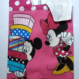 Catheter night bag cover Tinkerbell Licensed fabric.