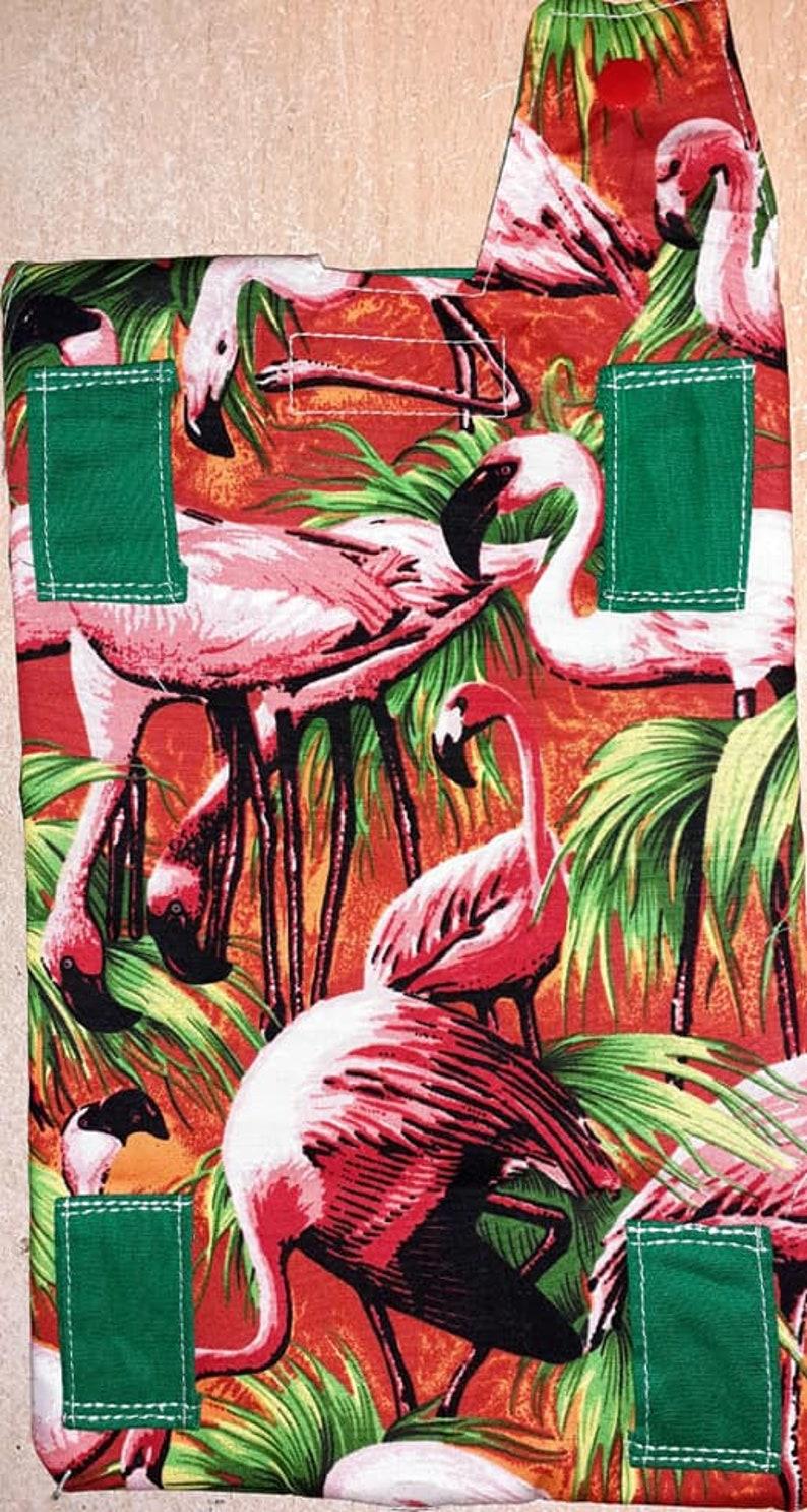 Pink flamingos Catheter leg bag cover