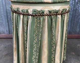 Stool Empire fabric jacquard bathroom Home Decor laundry basket box