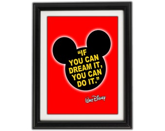 Mickey mouse quotes | Etsy