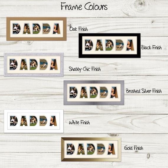 Dadda Photo Frame Word Photo Frame Photos in a Word 1246A