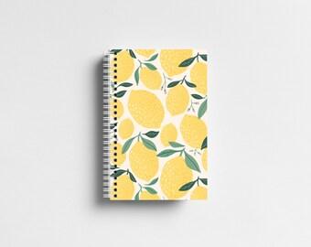 Lemons Personalized Notebook - Bullet Journal