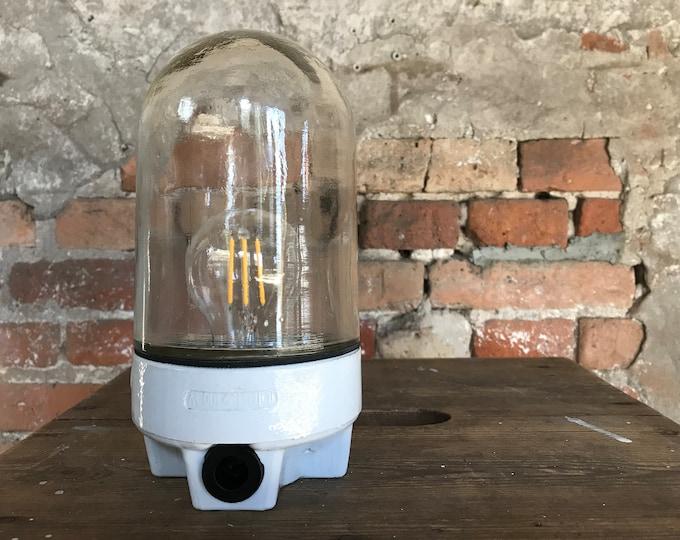 minimalistische Glaskolbenlampe (1x)