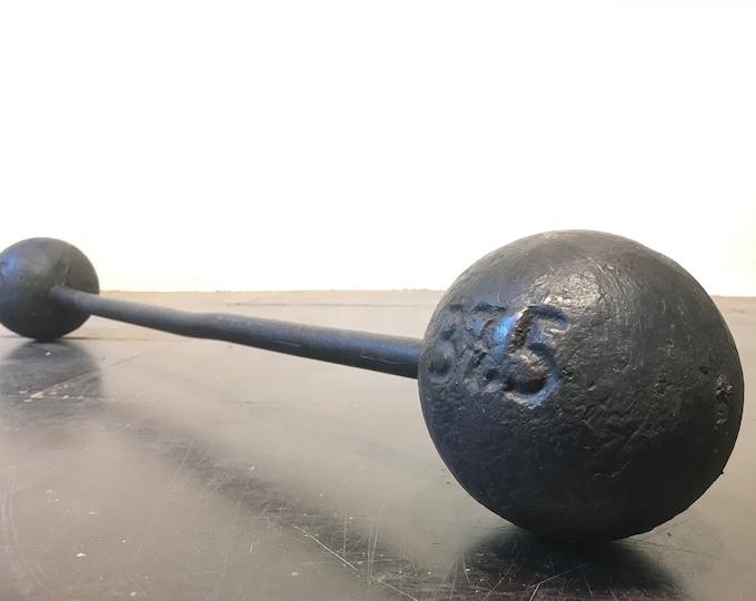 antike 37,5 kg Langhantel BERG 30er