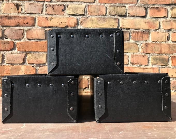 Vulkanfiber Kisten schwarz