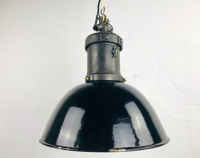 kleine RECH Emaillelampe