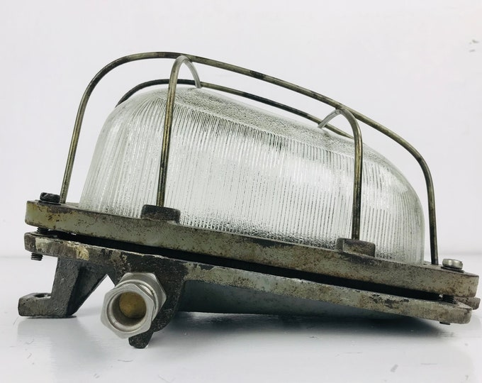 seltene schräge Wandlampe POLAM