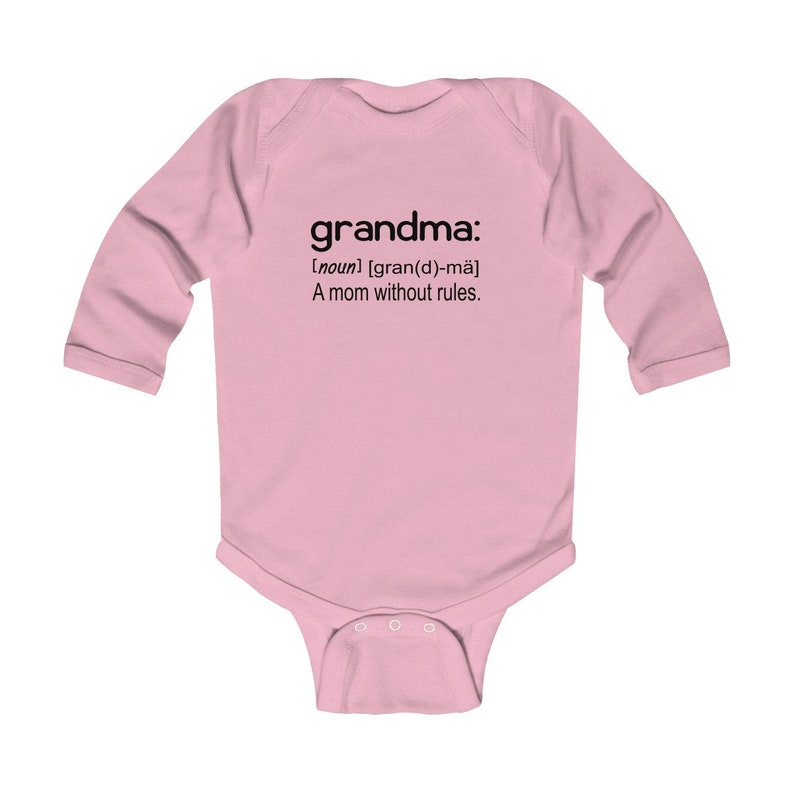 Baby Gift From Grandmother Baby Shower Gift Grandma Onesie Baby Onesie\u00a9 Grandma A Mom Without Rules Funny Baby Clothing