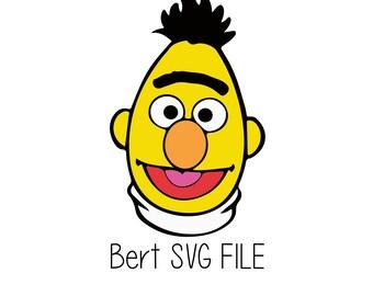 Bert sesame street | Etsy